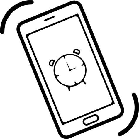 Alarm Mobil Vector phone alarm icons free