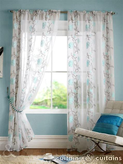 teal blue curtains bedrooms 17 best images about teal living room on pinterest