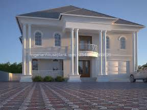 Semi Detached House Floor Plan 6 bedroom duplex ref 6011 nigerianhouseplans