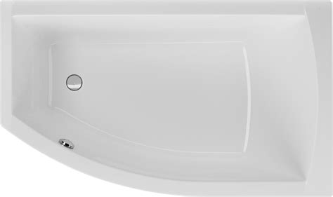 Badewanne Asymmetrisch 160 X 95 Cm Raumsparwanne Trapezform