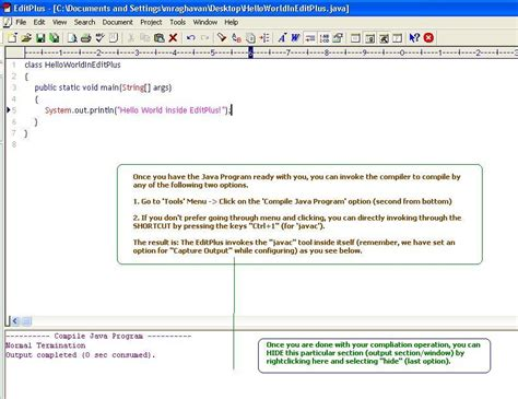 java programming program how to deal with java programs in editplus blogsofraghs