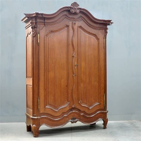 antique furniture armoire typical flemish oak armoire de grande antique furniture