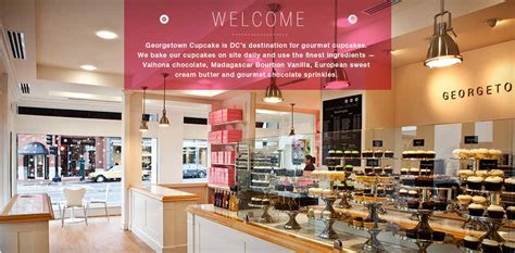 cupcake store top the cupcake georgetown cupcakes i want to go to there