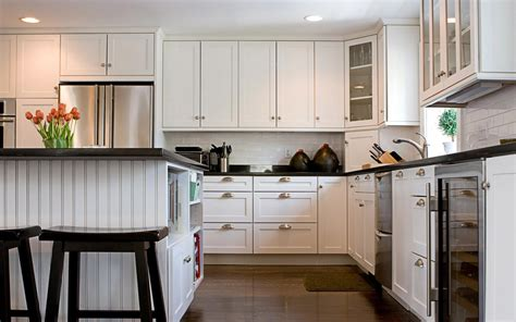 Cream White Kitchen Cabinets by