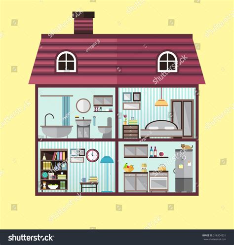 rooms in the house kitchen diagram template graph templates elsavadorla
