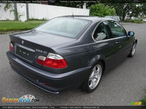 2000 bmw 3 series 323i 2000 bmw 3 series 323i coupe steel grey metallic grey
