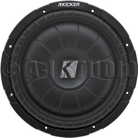 Kickers Track Aril kicker 10cvt104 10 inch compvt series shallow mount
