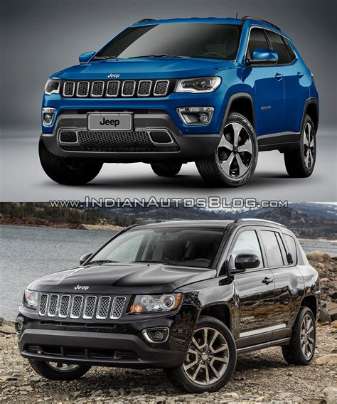 2016 vs 2017 grand 2017 jeep compass vs 2011 jeep compass in images
