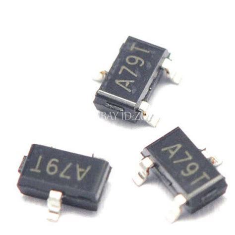 transistor mosfet smd 50pcs ao3407 a79t 4 3a 30v sot23 mos p channel mosfet smd transistor ebay