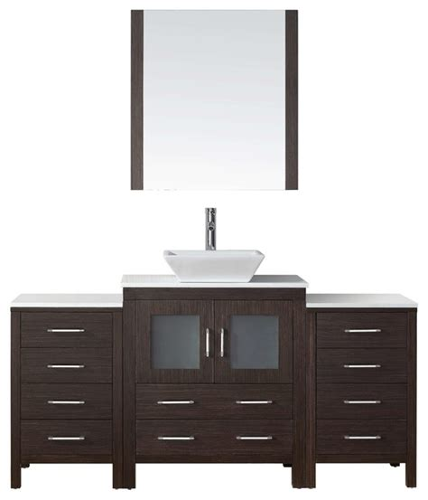 66 bathroom vanity cabinet dior 66 quot single bathroom vanity cabinet set espresso