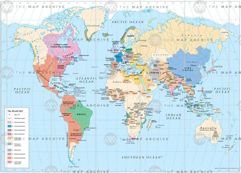 The World the world 1800