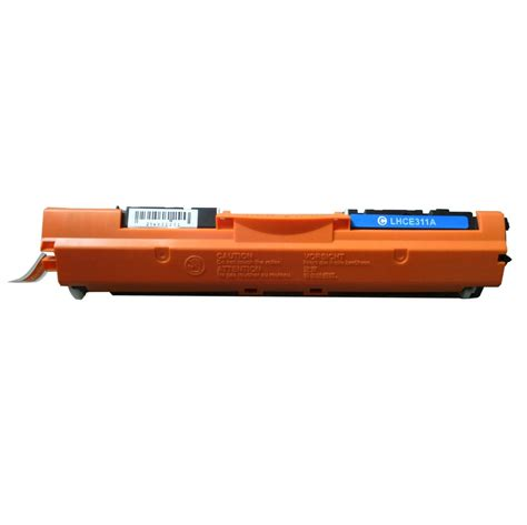 Toner Hp Laserjet Cyan 126a Ce311a hp 126a ce311a lasertoner cyan kompatibel 1000 sidor