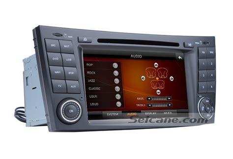 Tv Mobil Indash in dash car dvd gps navigation stereo for mercedes e