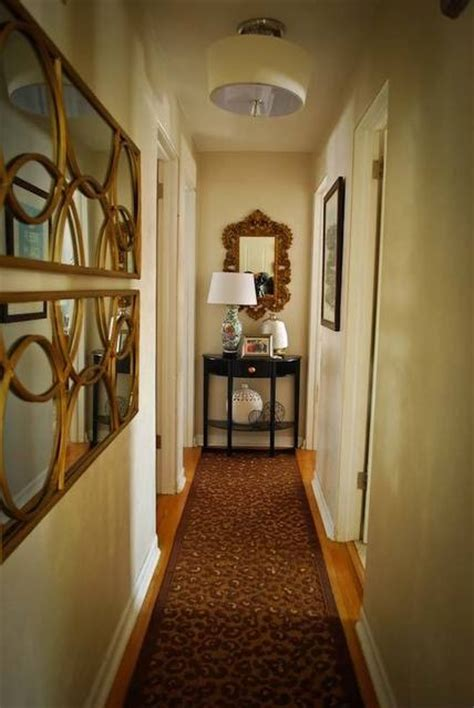 Decorating Ideas For End Of Hallway 17 Best Ideas About Narrow Hallway Decorating On