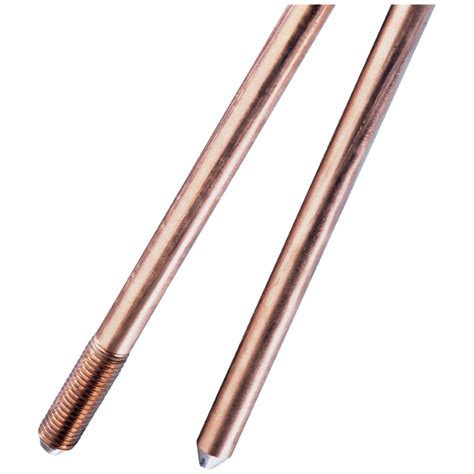 sectional ground rod copper bonded ground rod sectional erico