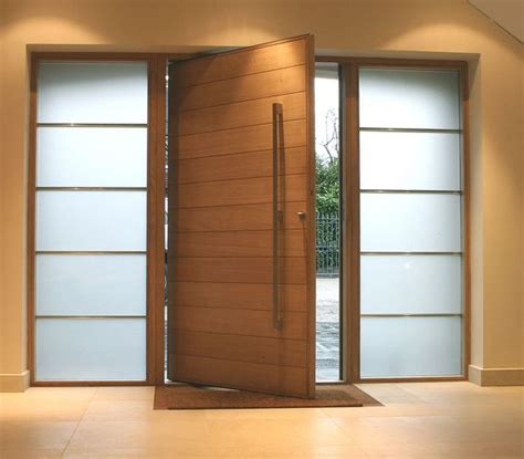 Cool Designer Plunket Pivet by Unique Custom Made Pivot Doors From Wood And Aluminum We