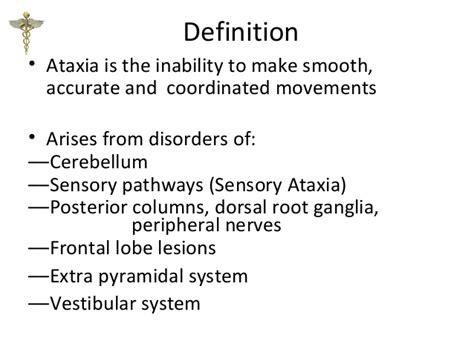 ataxia vestibular ataxia