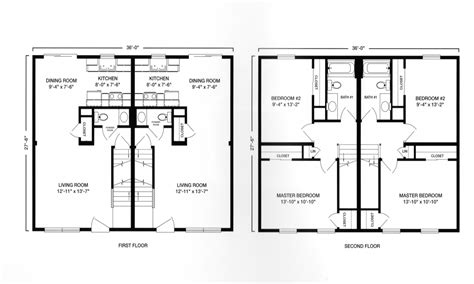 Duplex Floor Plans With Garage by Modular Ranch Duplex With Garage Plan Modular Duplex Two
