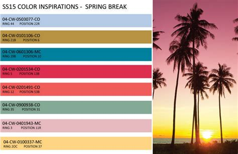 trendy color schemes 1000 images about color trends on pinterest