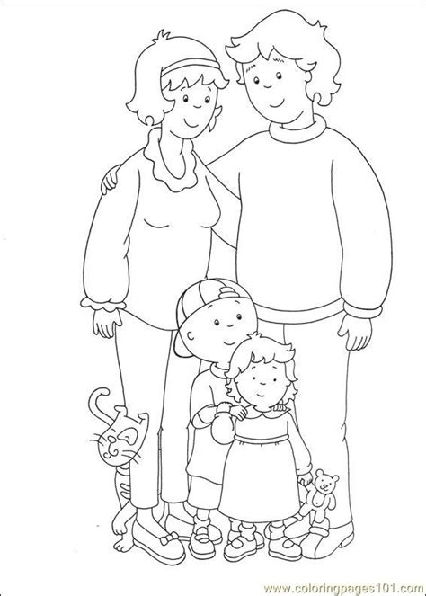 Caillou Coloring Pages Pdf | caillou coloring pages 029 coloring page free caillou