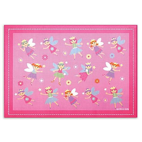 princess rug olive 5 foot x 7 foot princess accent rug in pink buybuy baby