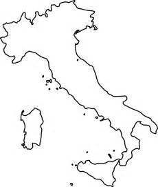 Free coloring pages of blank map italy png
