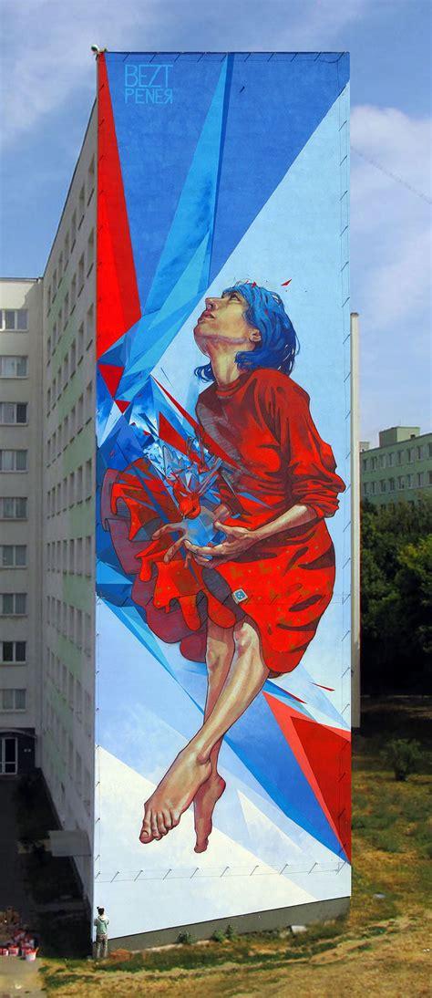 etam cru brightens city walls  epic colorful street