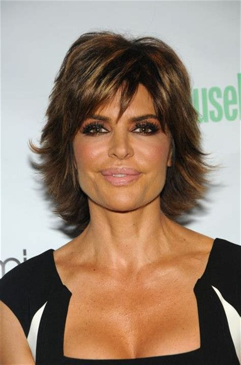 does lisa rinna have naturally curly hair 29 best images about short shag cut on pinterest cut and