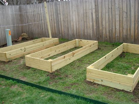 building garden beds pdf diy raised wood garden bed plans download quick wood