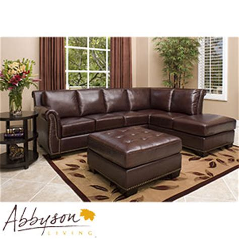 Top Grain Leather Sofa Costco Encore Top Grain Leather Sectional And Ottoman 187 Welcome To Costco Wholesale