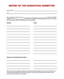 council report template sle committee report template 8 free documents