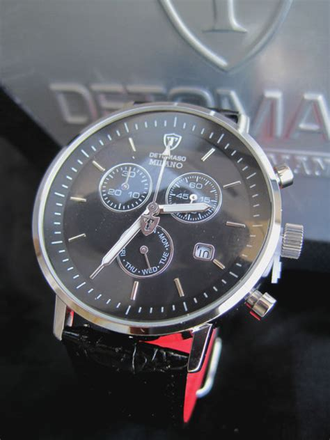 Wize Ope Watches Dt 24c Watches detomaso black dt1052 a chronograph s