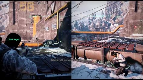 Co Op Ps3 by Fuse Demo Splitscreen Co Op Hd Playthrough Part 1