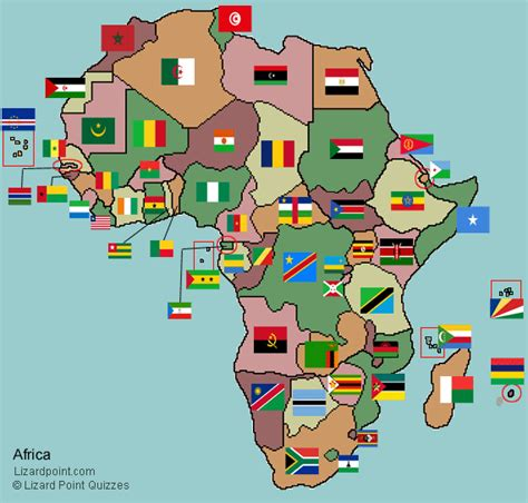 africa map flags africa flag quiz images