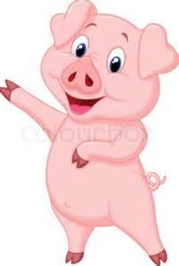 Toy Barn And Farm Animals Vector Illustration Of Cute Pig Cartoon Presenting