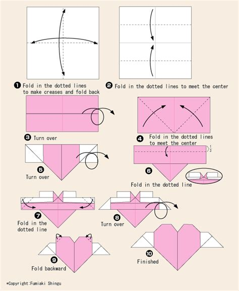 origami tutorial www pixshark images galleries
