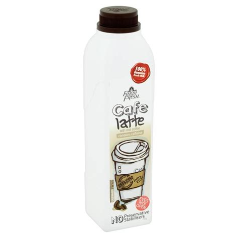 farm house fresh farm fresh cafe latte with real coffee 700g sam s groceria