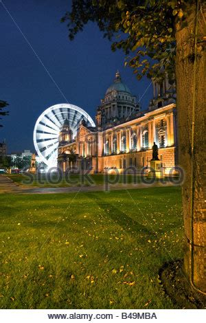 Mba Belfast by Belfast City And Big Wheel At Belfast County