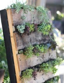 Vertical Gardening With Pallets Pallet Garden Exterior Diy Ideas Pallet