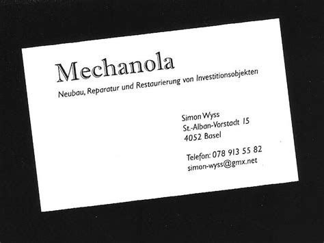 Owner Business Card