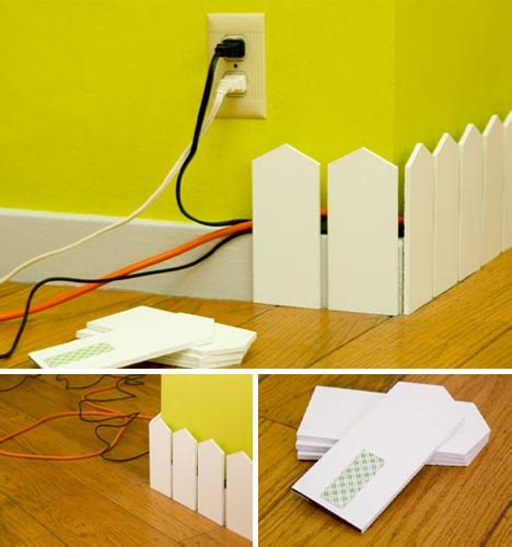 hiding cable wires along wall 5 offbeat outlet plates strange cord hiding solutions