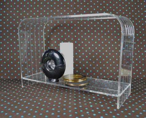 clear plastic shelf acrylic or lucite storage shelf