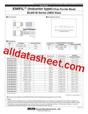 murata ferrite bead inductor ferrite bead inductor datasheet 28 images blm21bb121sn1b datasheet pdf murata manufacturing