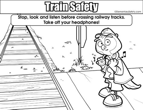railroad tracks pages coloring pages