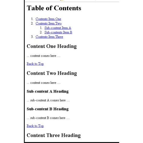 How To Do A Table Of Contents by Griffith 3623ict Work Mcmillan