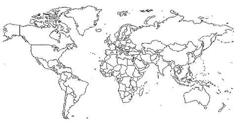 imagenes de un planisferio en blanco y negro mapamundi sin colores imagui