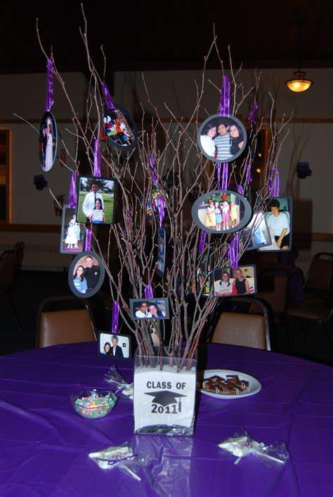 graduation centerpieces with pictures graduation centerpieces for tables class of 2013 i m