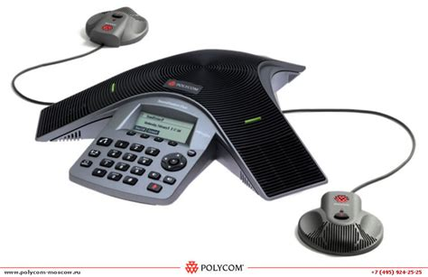 Polycom Expansion Microphone Kit For Soundstation Duo And Cx3000 polycom soundstation duo