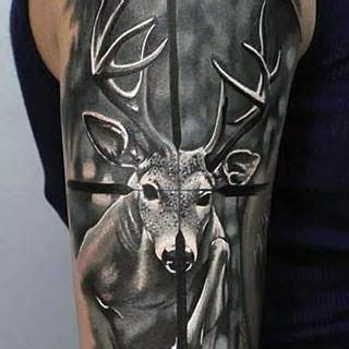 tattoo ink target target deer hunting tattoo ideas for males ink