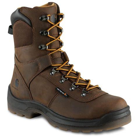 s carhartt 174 8 quot electrical hazard work boots 190767